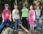 děti na škole v přírodě, ZŠ Nové Město