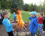 táborák na škole v přírodě