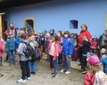 školní výlet - skanzen Veselý kopec