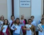 loučení s absolventy ZŠ Nové Město nad Cidlinou