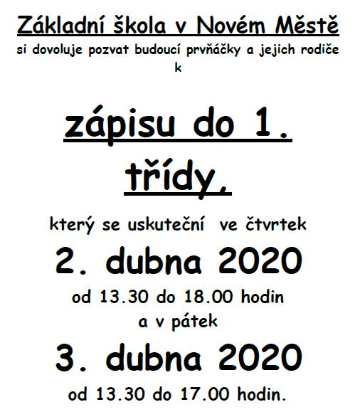 ZS-Nove-Mesto-zapis-do-prvni-tridy-2020